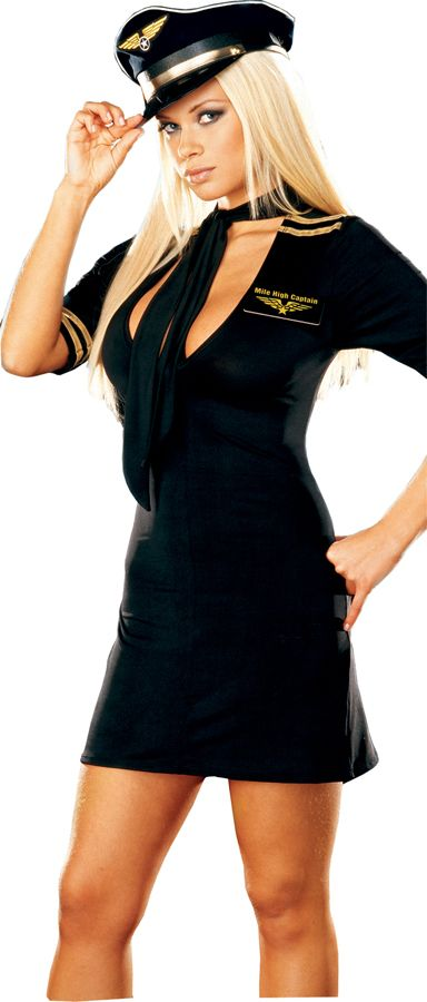 Women's Stewardess Costume
