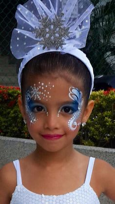 frozen face painting - Google Search More