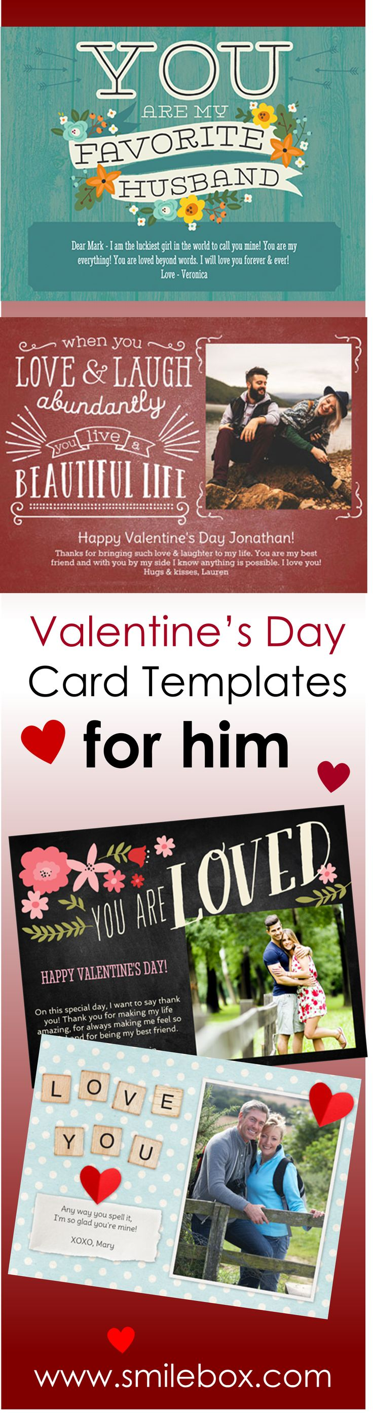 It's easy to create your own Valentine's Day card, from whimsical and quirky to traditional and vintage. Make the style your own with humor and sarcasm in our funny Valentine's Day collection. Our diverse variety of formats, themes and styles includes thousands of collages, invitations, cards, slideshows, and more.