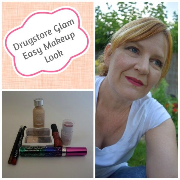 Drugstore Glam Makeup Look-Beauty and Fashion Tech