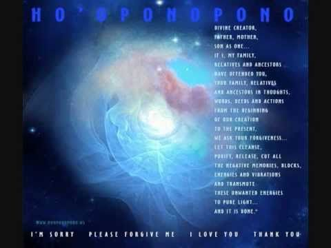 Ho'oponopono Cleansing Memories Within
