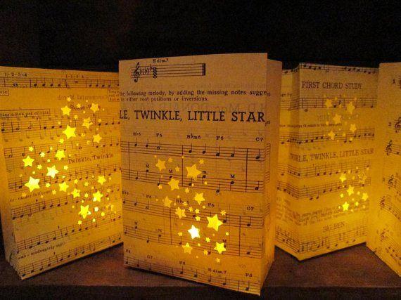 starry night luminaries by olden designs | via Starry Night Weddings http://emmalinebride.com/vintage/starry-night-weddings-ideas/