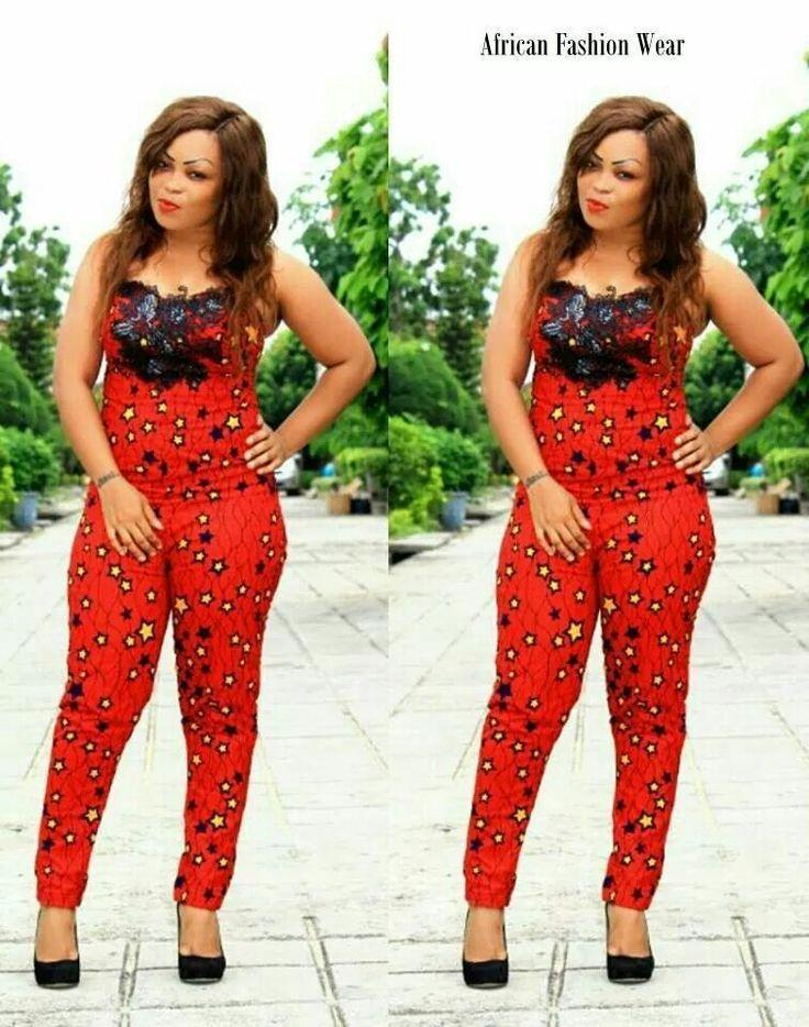 Another Beautiful Ankara Jumpsuit | Afro Nigerian Print || Ankara Fashion | Pinterest ...