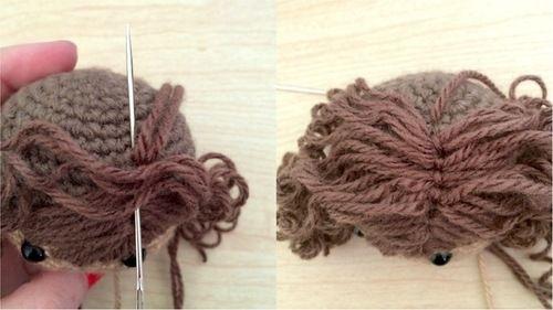 Amigurumi Hair Styles : 1000+ images about Crochet Dolls on Pinterest