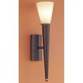 Wandlamp Torneor roest bruin 1 lichts