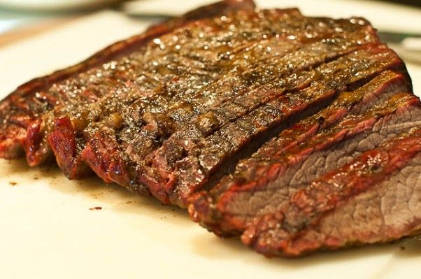 Smoked Brisket Recipe from addapinch.com