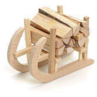 Slitta in legno per presepe | vendita online su HOLYART