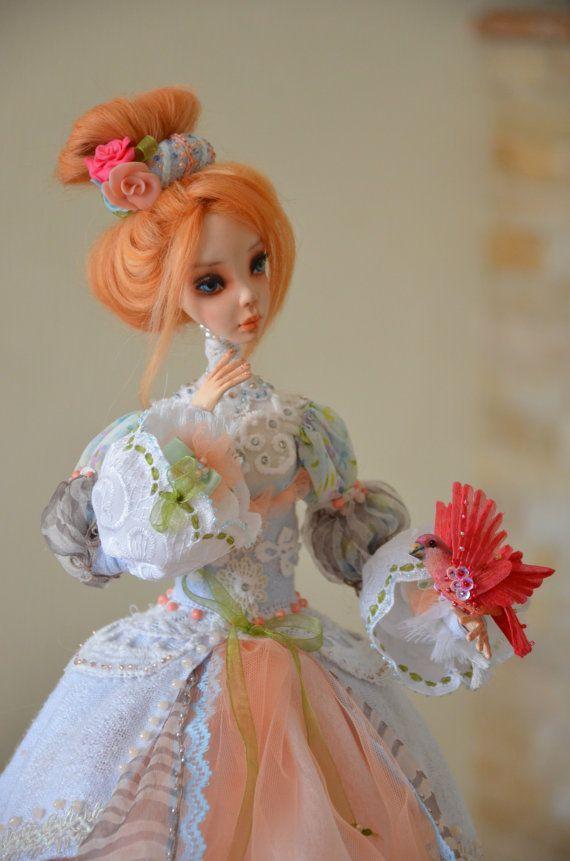 Fairy Doll   Art Dolls  OOAK Art Doll   Hand made doll
