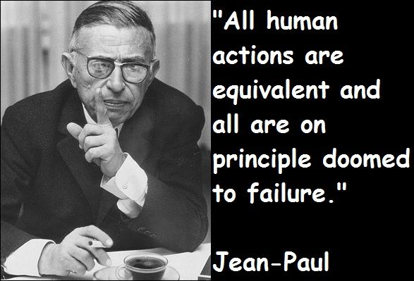 an analysis of jean paul sartres the flies The wall by jean‐paul sartre they pushed us into a big white room and i began to blink because the light hurt my eyes then i saw a table.