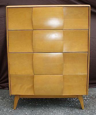 heywood wakefield kohinoor chest of drawers in original wheat finish