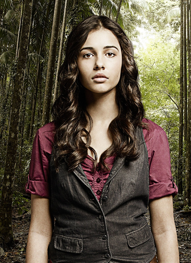 Naomi Scott as Maddy Shannon in Terra Nova