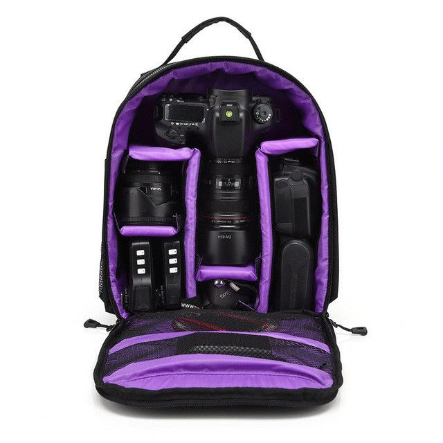 Waterproof DSLR Small Camera Bag Many colors to choose from