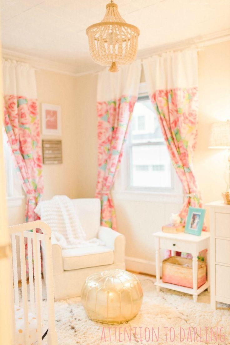 Pink Door Blog Hop Round 3 Lilly Pulitzer Nursery Tour