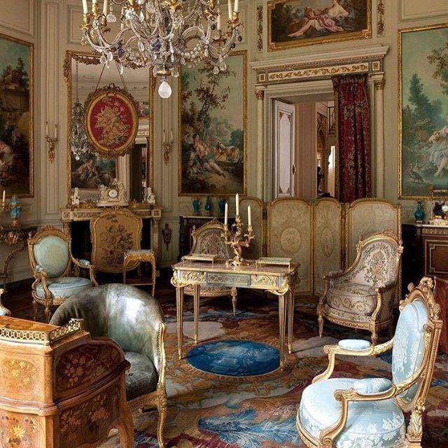 fabulous salon des huet at the nissim de camondo museum in paris picture jean tholance with. Black Bedroom Furniture Sets. Home Design Ideas