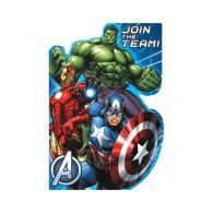Avengers Postcard Invitations Pkt8 $6.95 A491354