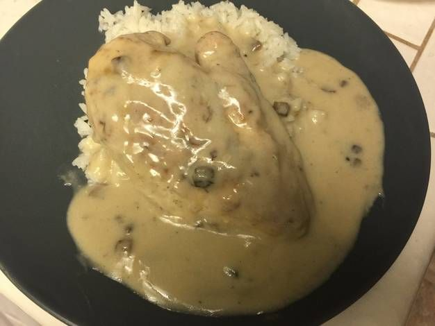 Cream of Mushroom Chicken and Rice