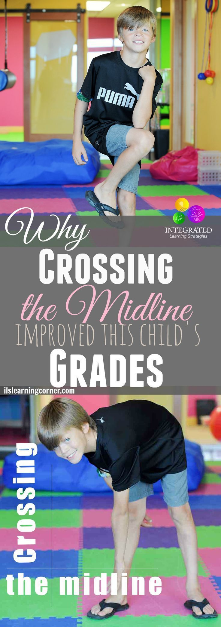 Yes!!!  Why Crossing the Midline Activities Helped this Child Listen to his Teacher | ilslearningcorner.com