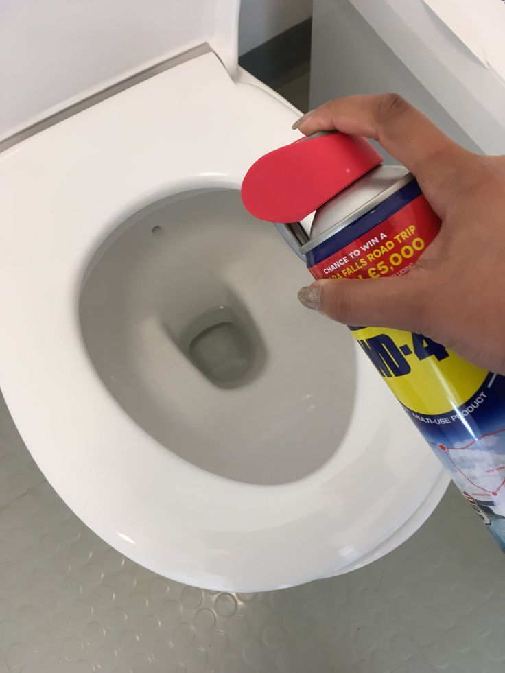 Clean Toilet Bowls With Wd40 Remove Hard Water Stains