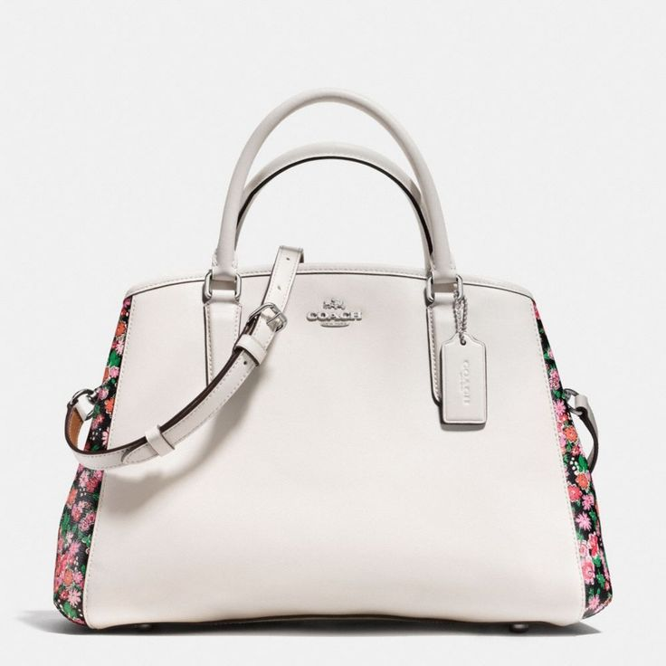 NWT Coach Margot Posey Cluster Multi Floral Print Carryall Convertible Bag 57631 #Coach #Satchel
