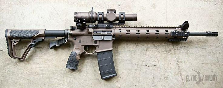 Daniel Defense M4v7 With Vortex Razor Hd 1 6x Ad Recon