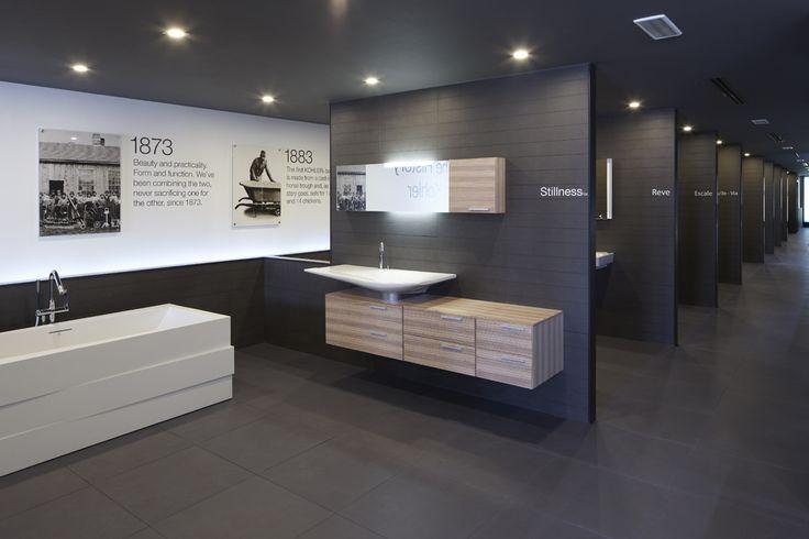 Kohler Dubai showroom designed by Harvey Langston-Jones.  http://www.m-ap.com #tristanbutterfield