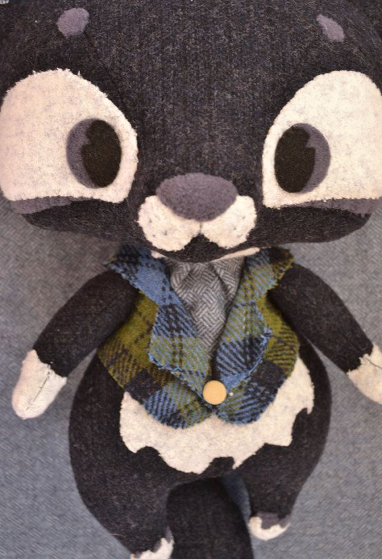 Oh Wolfy by MarieChou on Etsy