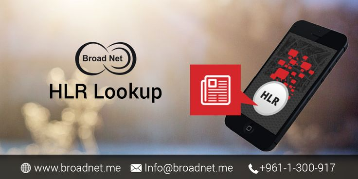 BroadNet Technologies presents versatile and upscale HLR Lookup services that help you make the most out of the mobile messaging. Our HLR Lookup services are guaranteed to make your SMS marketing campaign a true success. It is very easy to run our ease of use #HLR #Lookup services online instantly. You only need to upload your mobile numbers via our interface or connect via an API and you are all set to go.