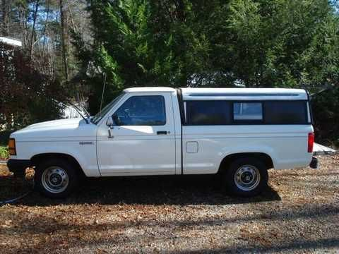 small white chevy truck Fort camper | Similar: richmond chevrolet truck , s10 camper shell