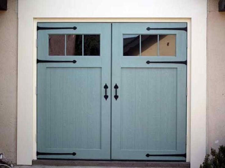 French Door Garage Doors : Best images about garage door alternatives on pinterest