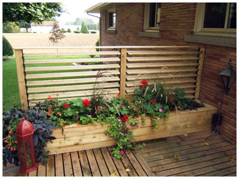 Flex·fence louvered hardware for fences, decks , pergolas, hot tub privacy and so much more! - Photo Gallery