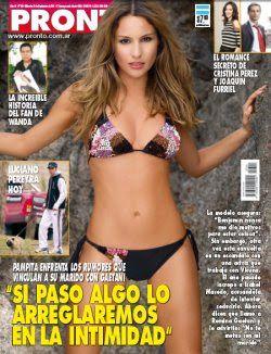 Report Show - El mundo del espectáculo online: Tapa Revista Pronto: Pampita Ardohain