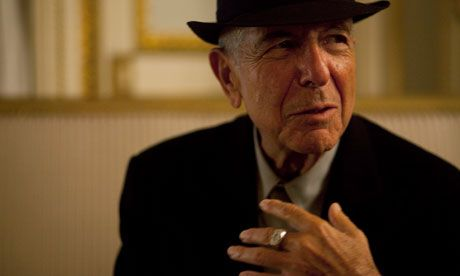 Leonard Cohen is not a book but if you want the general creepy feeling an unsettling read can give an evening, Leonard Cohen can provide.
