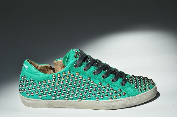 #newarrivals #ss13 #shoes #sneakers #green #smerald #metallic   www.crime-fashion.com