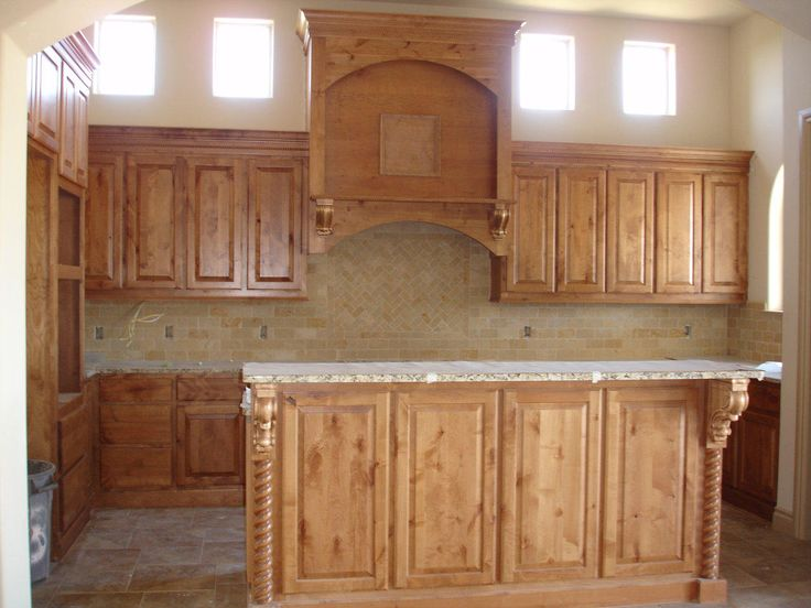 Best 25 Knotty Alder Kitchen Ideas On Pinterest Rustic Cabinets Farmhouse Stained Glass Panels And Rustic Kitchen Cabinets