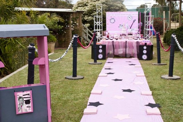 Rockstar Party Birthday Party Ideas | Photo 1 of 38 | Catch My Party