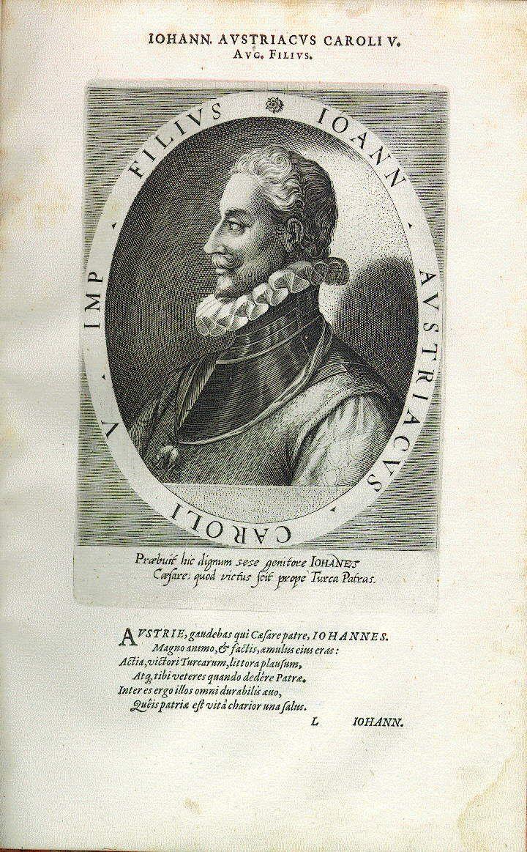 Juan d'Austria, Sohn Kaiser Karls V. (1545-1578), Feldherr, 1576 Statthalter [governor] in den Niederlanden