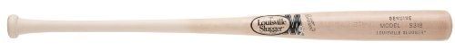 Louisville Slugger S318 M9 Maple Baseball Bat, Natural, 33-Inch by Louisville Slugger. $71.61. NOT ALL WOOD BATS ARE CREATED EQUAL. Slugger is baseball. for over 125 years, we've dominated the batter's box in Major League Baseball. Still to this day, more teams and players – from rising stars to All Stars –swing Slugger than any other brand. What do they know that other players don't? No other bat combines heritage, expertise and passion for the game like ...