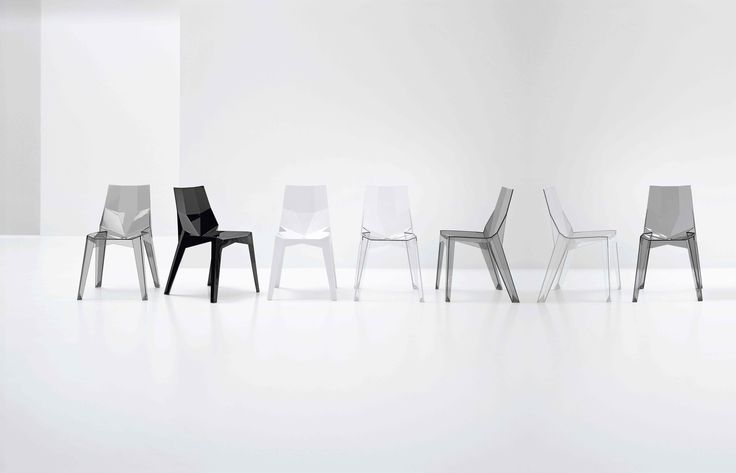 Poly XO Chair, design: Karim Rashid, Bonaldo