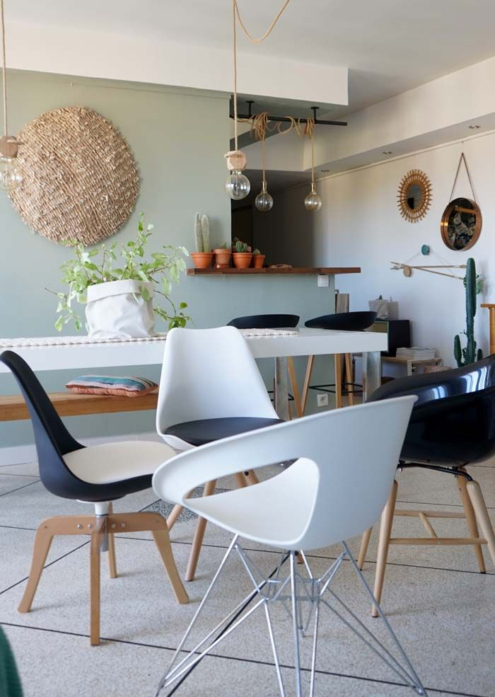 Jeu concours terminé Tout le monde rêve d'avoir une pièce dedesignerà la maison. Comme par exemple les chaises DAW et DSW EAMES devenues mythiques. On les avus passer dans les magazines déco, da…
