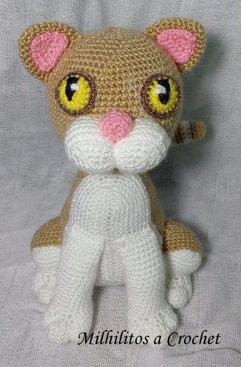 Amigurumi gato Amigurumi cat