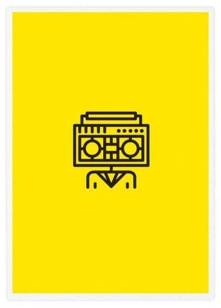 Минималистичные плакаты, в которых зашифрованы названия известных музыкальных групп. Сможете догадаться?