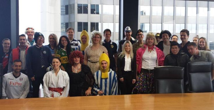 """Our Melbourne & Mount Waverley team got into the #AFL Grand Final spirit last Friday hosting a Sales Day with an interesting take on a """"Buddy"""" dress up theme to honour Buddy Franklin!"""
