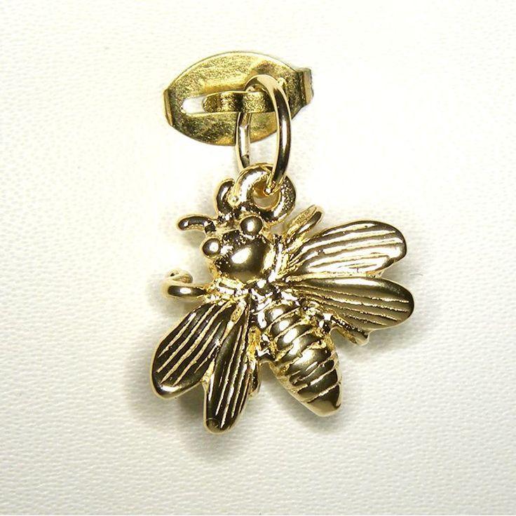 Bumble Bee Charm - chr-0365