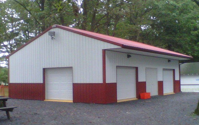 37 best pole barn images on pinterest carriage house for Total cost of building a house