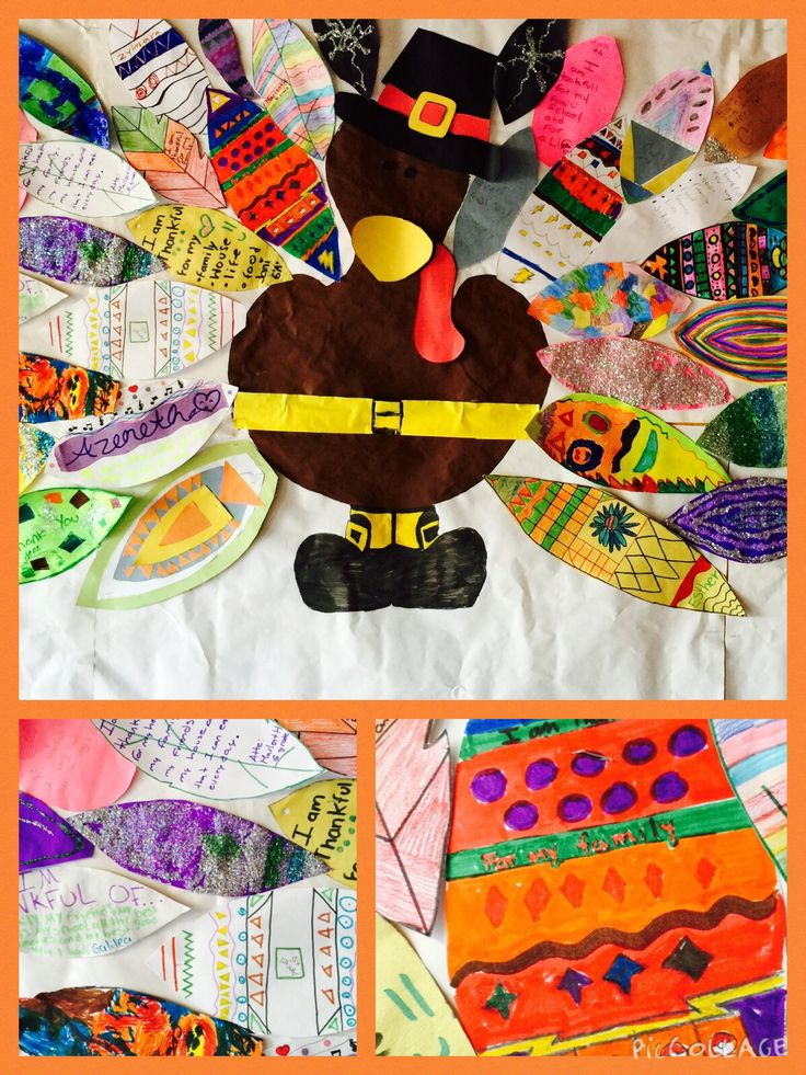 Thanksgiving Bulletin Board ny Mr. ALEX Ortiz