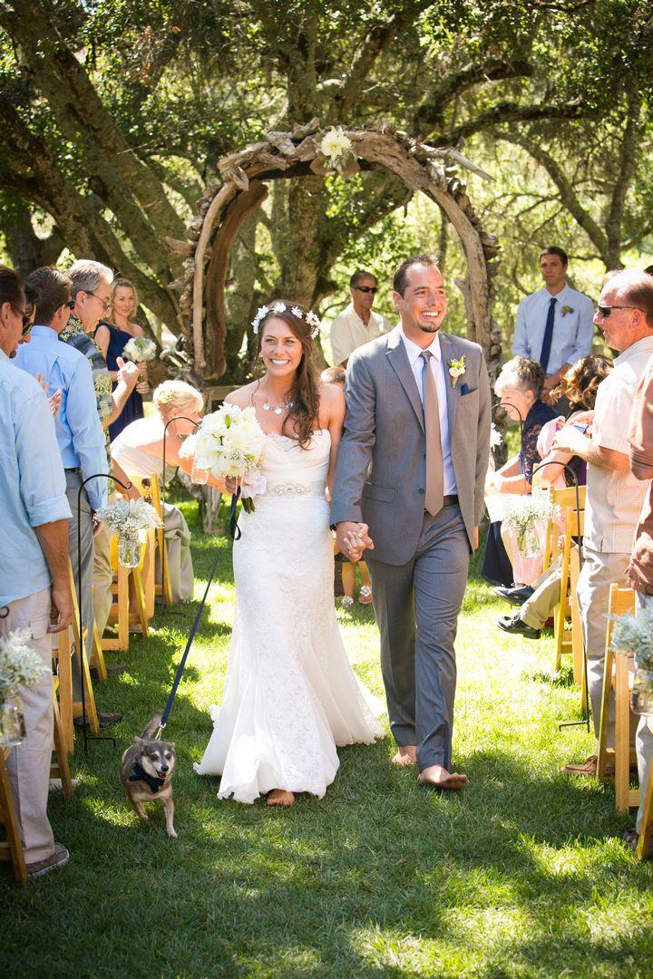 Megan and Dustin's Beautiful Boho Style Outdoor Wedding. By Ashley Blake