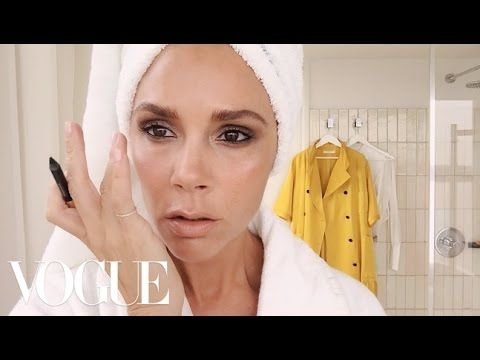 Victoria Beckham's Makeup Routine Takes Five Minutes