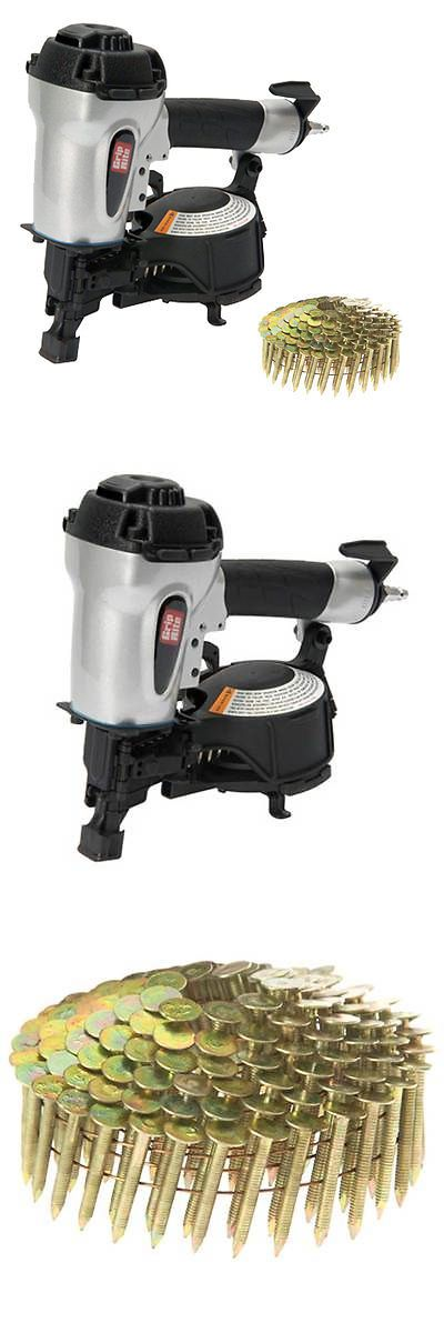 Roofing Guns 42243: Grip Rite Air Powered Coil Roofing Nailer With 1-1 2 Ss Roofing Nails, Grtcr175 -> BUY IT NOW ONLY: $412 on eBay!