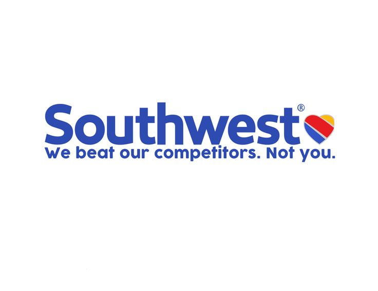 Southwest Airline's New Slogan : funny #united