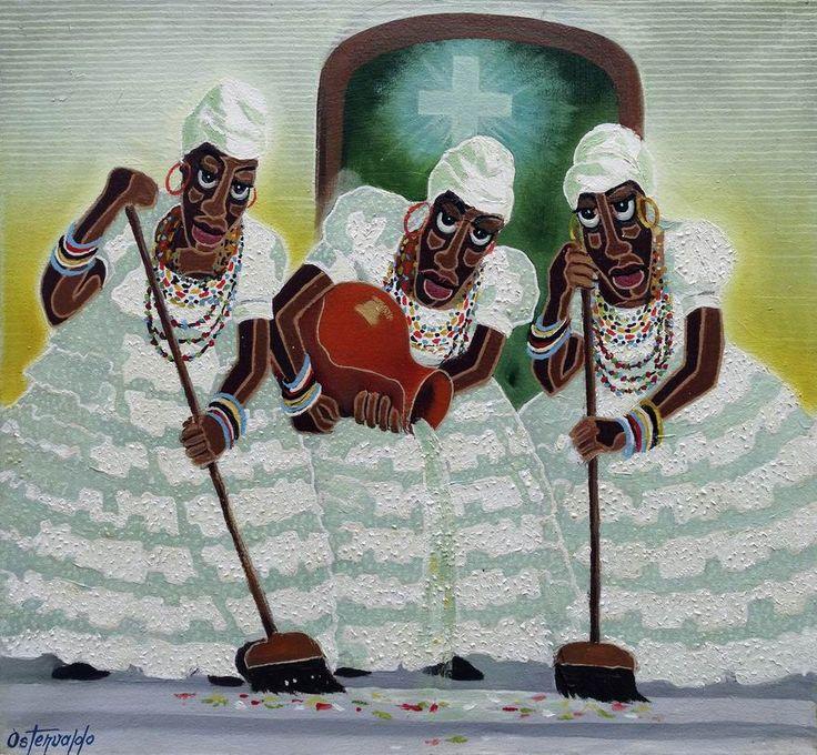 Lavagem do Bonfim [Pop Art-A4203] - $500.00 painting by oilpaintingsartmaker.com